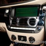 Rolls Royce Wraith launched in India center console