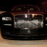 Rolls Royce Wraith launched in India grille