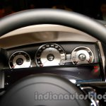 Rolls Royce Wraith launched in India instrument cluster