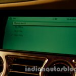 Rolls Royce Wraith launched in India multimedia screen