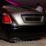 Rolls Royce Wraith launched in India rear bumper