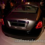 Rolls Royce Wraith launched in India rear three quarter