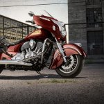 Side of the 2014 Indian Chieftain