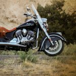 Side profile of the 2014 Indian Chief Vintage