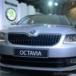 Skoda Octavia front fascia