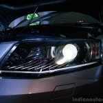 Skoda Octavia headlamp illuminated