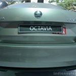 Skoda Octavia rear fascia