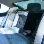 Skoda Octavia rear split seats