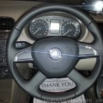 Skoda Rapid new steering wheel