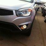 Ssangyong Korando facelift daytime running lights