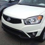 Ssangyong Korando facelift front bumper