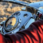 Tank mounted dials of the 2014 Indian Chief Classic