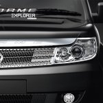 Tata Safari Storme Explorer Edition headlight