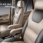 Tata Safari Storme Explorer Edition leather seats
