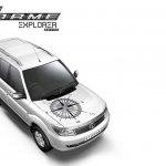 Tata Safari Storme Explorer Edition white