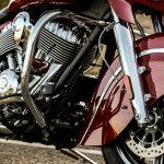 Thunder Stroke 111 engine of the 2014 Indian Chieftain
