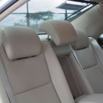 Toyota Camry Hybrid height and slant adjustable headrests