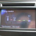 Toyota Camry Hybrid infotainment screen
