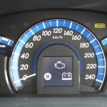 Toyota Camry Hybrid instrument cluster
