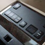 Toyota Camry Hybrid rear armrest controls