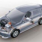 Toyota Corolla Fielder Hybrid Japan - layout