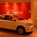 Toyota Etios launched in Nepal side
