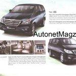Toyota Innova facelift brochure 3