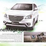 Toyota Innova facelift brochure 4