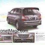 Toyota Innova facelift brochure 5
