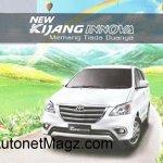 Toyota Innova facelift brochure