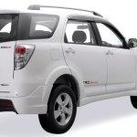 Toyota Rush facelift rear three quarter