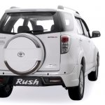 Toyota Rush facelift rear