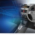 Toyota Rush facelift steering wheel