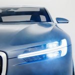Volvo Concept Coupe headlamp