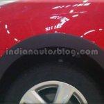 Wheel arch of the VW Cross Polo
