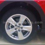 Wheels of the VW Cross Polo