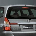 2013 Toyota Innova facelift rear garnish