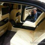 2014 Bentley Flying Spur rear seats