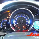 2014 Honda Fit instrument console