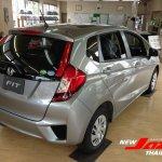 2014 Honda Fit silver