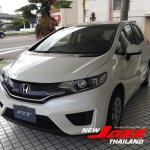 2014 Honda Fit white front