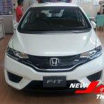 2014 Honda Fit white