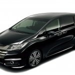 2014 Honda Odyssey black body color