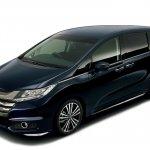 2014 Honda Odyssey blue body color