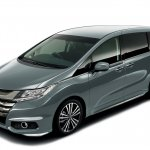 2014 Honda Odyssey dark gray body color