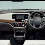 2014 Honda Odyssey ivory dashboard