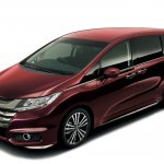 2014 Honda Odyssey red body color
