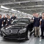 2014 Mercedes E Class Long Wheelbase production China