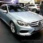 2014 Mercedes E Class Long wheelbase front three quarter