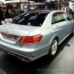 2014 Mercedes E Class Long wheelbase rear three quarter